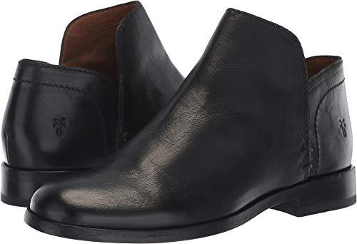 FRYE Women's Elyssa Shootie Ankle Boot, Black, 7.5 M US