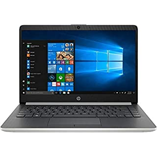 "2020 HP Premium 14"" Micro-Edge Laptop Computer, AMD A9-9425 up to 3.7GHz, 16GB DDR4 RAM, 512GB PCIe SSD, WiFi, Bluetooth 4.2, USB Type-C, HDMI, Webcam, Silver, Windows 10 Home, YZAKKA Accessories"