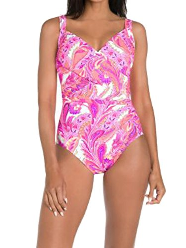 (Miraclesuit Women's Persian Garden Captiva One Piece Swimsuit)