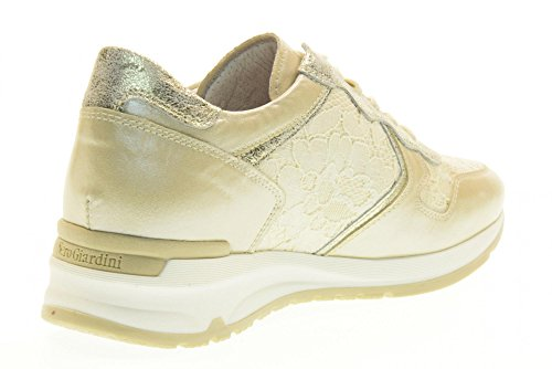 NERO GIARDINI las mujeres zapatillas de deporte bajas P717043D / 702 Beige