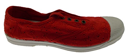 120 502 Tennis Cotton eco Canvas red sangallo 36 bN42vBMK8V