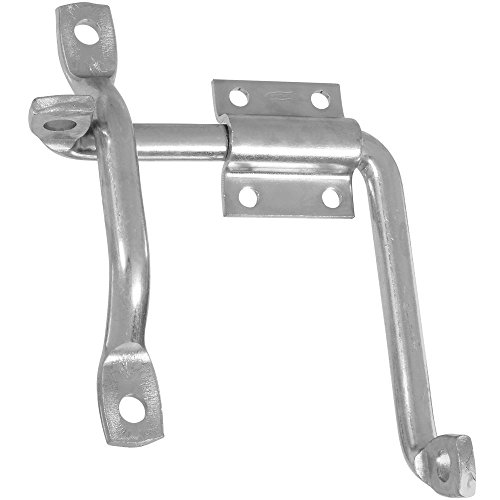 National Hardware N156-042 V13B Door and Gate Latch in Zinc plated