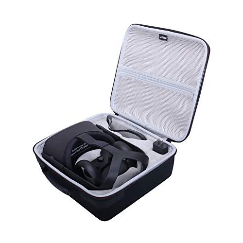 LTGEM EVA Hard Case for Oculus Quest 2 & Quest All-in-one VR Gaming Headset – Travel Carrying Protective Storage Bag