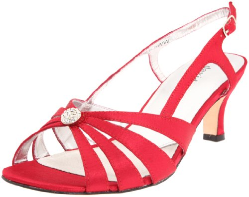 Image of David Tate Women's Rosette Evening Sandal