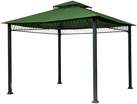 Garden Winds Replacement Canopy Top Cover for Havenbury Gazebo – Riplock 350 – Green