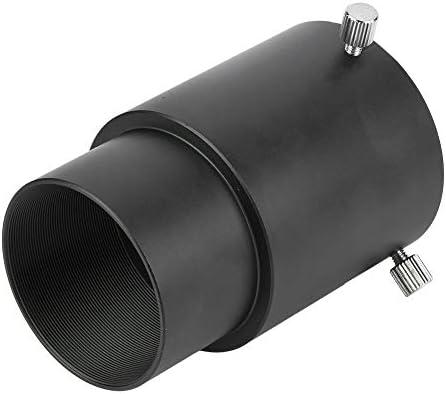 Pomya Telescope Extension Tube for Camera, Durable 60mm 2 inch Telescope Eyepiece Extension Tube Metal Adapter for Astronomical Telescopes