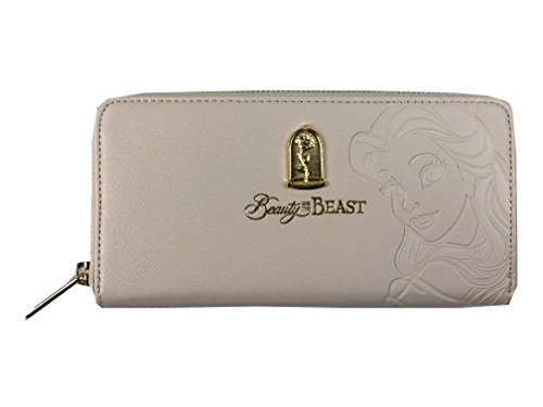 Loungefly x Beauty and the Beast Belle Embossed Charm Wallet (One Size, Multi)