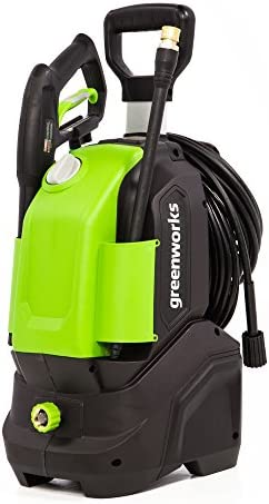 Greenworks GPW1604 Pressure Washer, 1600 PSI, green