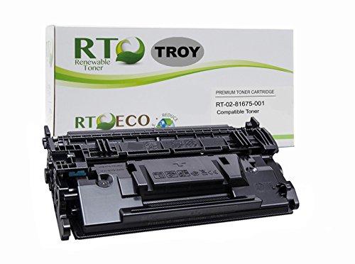 Renewable Toner Compatible MICR Toner Cartridge Replacement for Troy 02-81675-001 HP CF287A 87A for Laserjet M501 M506 M527