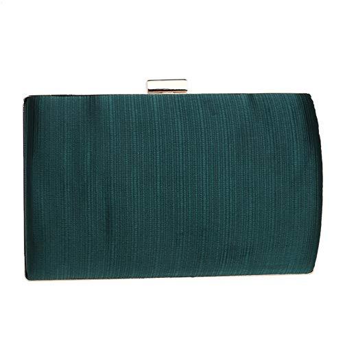 Robe Sac Vert Pochette En couleur De D'embrayage Or Soie Soirée Enveloppe Mariage qC6YCH
