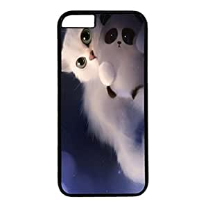 DIY iPhone 6 Plus Case Cover Custom Phone Shell Skin For iPhone 6 Plus With Lonely Cats