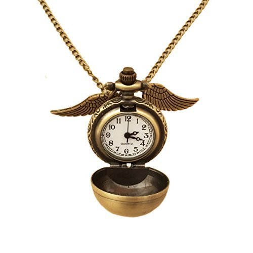 wizardry-antique-tone-fairy-winged-with-watch-pendant-necklace