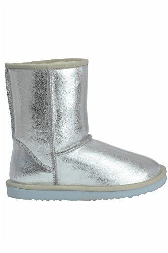 Go Tendance - Botas para mujer Plata - plata