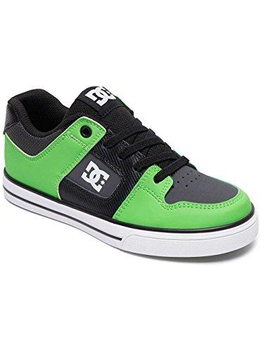 DC Shoes Pure Elastic Se - Zapatillas Para Chicos ADBS300273 GREEN/GREY/WHITE