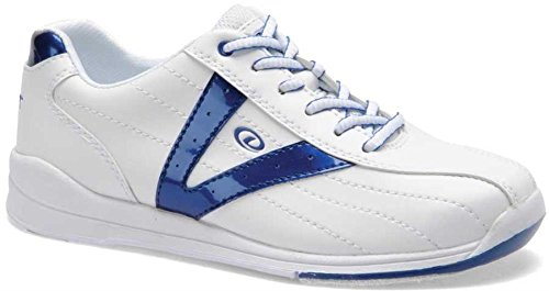 Dexter Vicky Bowling Shoes, White/Blue, 11