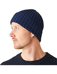 Mens Fisherman s Beanie Hat - Cotton Slouch Cap Women Chemo Knit Winter f4f853950542