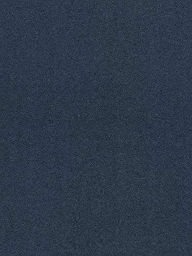 (Pacific Blue Solid Texture Plain Faux Leather Vinyl Upholstery decorative Upholstery Fabric by the yard)