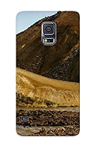 Markrebhood Galaxy S5 Well-designed Hard Case Cover Small Mountain Creek Protector