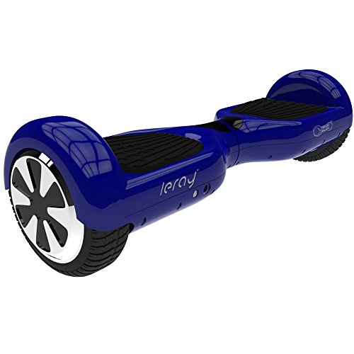 Self Balance Scooter Leray Two Wheel Self Balancing Electric Scooter Smart Electric Skateboard Safe Easy User Friendly Personal Transporter (Blue)
