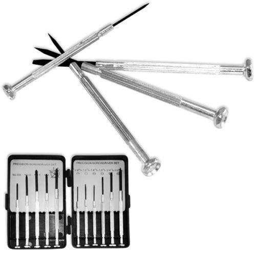 Generic QY*US4*160215*2634 *8**1086** Watch Jewelry Eyeglasses ces Pre Screwdriver Set | 11 Piec 11 Pieces Precision Screwdr Small Kit all Kit Repair Repair Small Kit ()