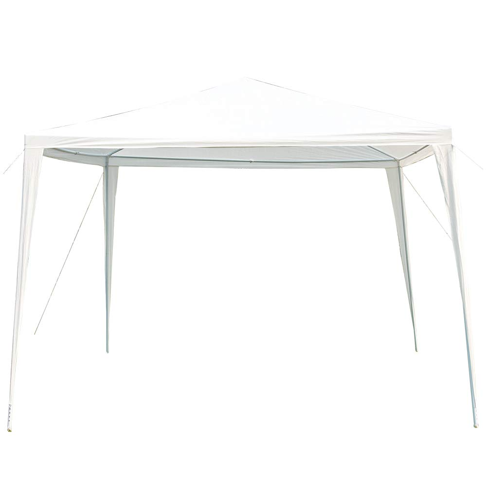 Sundale Outdoor 10x10 Canopy Gazebo Party Wedding Tent White