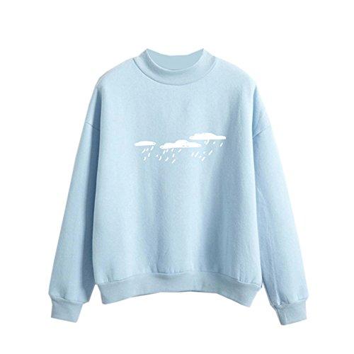 Dorathy Harajuku Sweater Cool Hoodies For Teens Cloud Cute Pastel - Pastel Cute