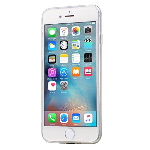 wortek iPhone 6/S Schutzhülle Transparent TPU Case Liquid Crystal Ultra Slim Cover Durchsichtig Schlank Bumper klar [CAMERA-PROTECTION]