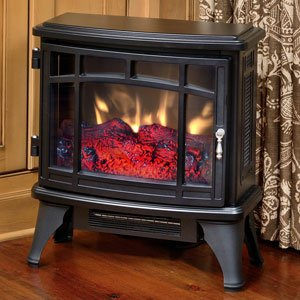 Duraflame Electric Infrared Quartz Fireplace Stove, Black ()