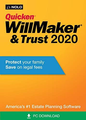 Quicken WillMaker & Trust 2020 [PC Download] WeeklyReviewer