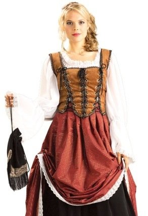 Scottish Costumes (Deluxe Scottish Brigadoon Adult Costume - Large)