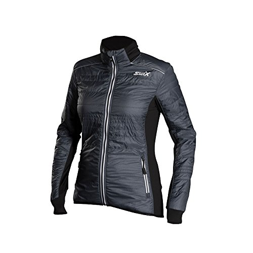 - Swix Women's Menali 2 Quilted Jacket (Heather/Charcoal,XS)