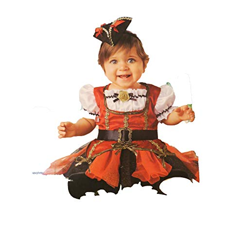 Walmart Pirate Princess Infant Costume 6-12 Months -