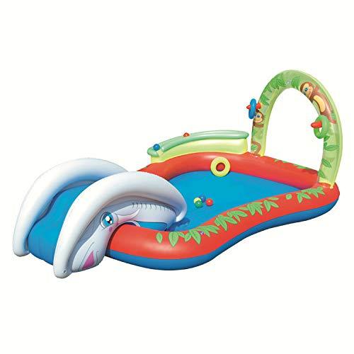 Xxl-Vibrator Piscina Hinchable niños,Juegos de Agua para niños ...