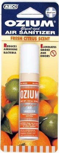 Ozium OZ-62 Scent 6 Pack Smoke & Odor Eliminator Car & Home Air Sanitizer/Freshener, 0.8oz Spray Citrus, 6 Pack