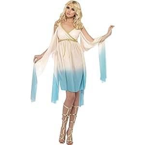 Disfraz de diosa griega para mujer disfraz de Helena de Troya vestido y accesorios para el