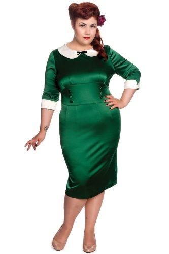 Hell Bunny vestido vestido 4296moneypenny Green - Green