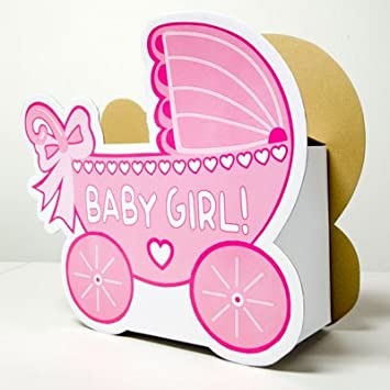 Amazon Baby Shower Baby Girl Carriage Wishing Well Box Baby