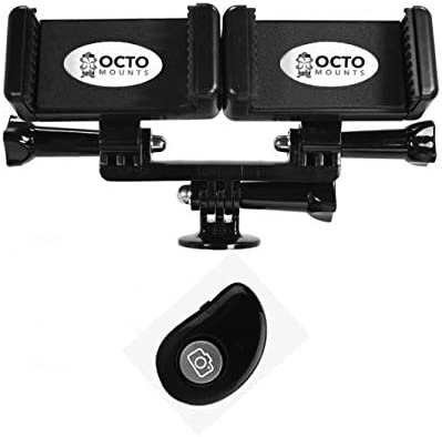 Octo – Soporte dual Teléfono Móvil adaptador de montura para ...