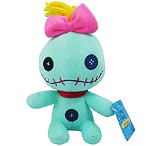 "Disney Plush 6"" Stuffed Lilo & Stitch Scrump Plush Toy"