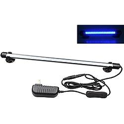 Mingdak LED Aquarium Light for Fish Tanks,42 LEDs,14.5-inch,Blue