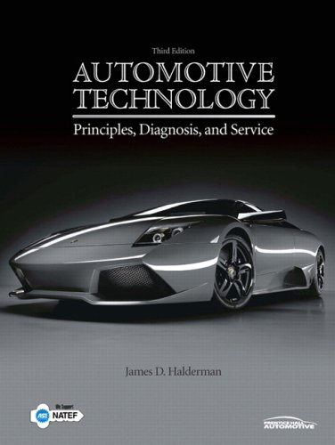 Automotive Technology: Principles, Diagnosisd Service Value Package (includes NATEF Correlated Job Sheets for Automotive