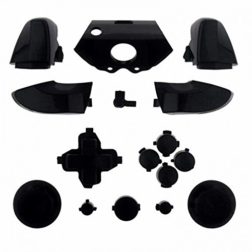 ModFreakz™ Full Button Set Thumbsticks Solid Black For Xbox One Model 1537 Controllers For Sale