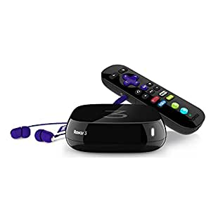 Roku 3 Streaming Media Player (2014 model)