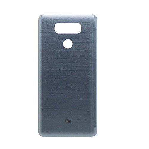 Draxlgon Platinum Really Glass Battery Door Cover Back Case Replacement for LG G6 H870 H871 H872 LS993 VS998 All Carriers (Gray)