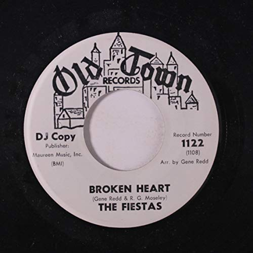 Railroad B&m - broken heart / the railroad song 45 rpm single