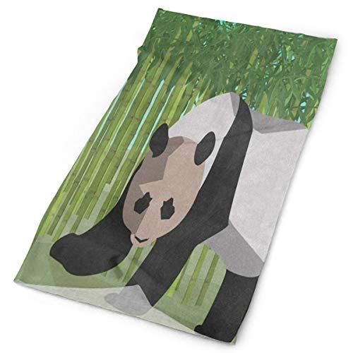 Greennn Sports Headband Green Bamboo Forest Cute Panda Hiking