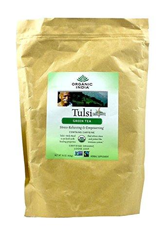Tea Original Tulsi (ORGANIC INDIA The Original Tulsi, Green Tea, 1 Pound)