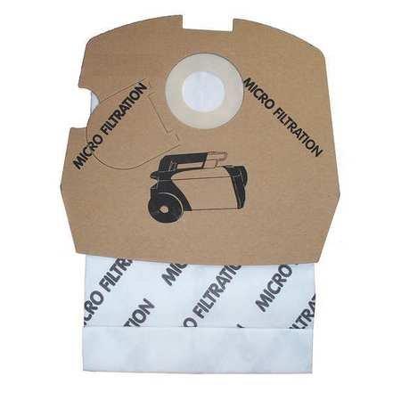 Canister Vacuum Bags, Paper, PK12