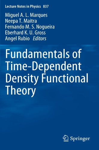 Fundamentals of Time-Dependent Density Functional Theory (Lecture Notes in Physics, Vol. 837)