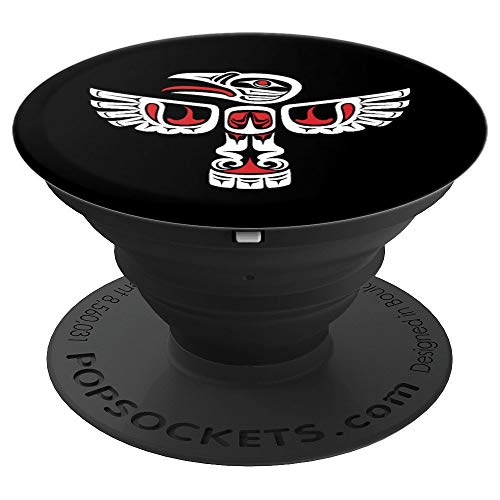 Native American Haida Art Lover Native Indian People Gift PopSockets Grip and Stand for Phones and - Art Native Haida